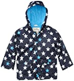 Hatley Little Boys' Children Fun Stars Rain Coat
