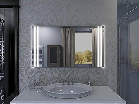 Specchio con illuminazione manchester m l v design specchio per