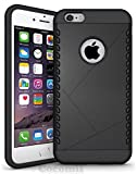 iPhone 6S Plus / iPhone 6 Plus Case, Cocomii [HEAVY DUTY] Shield Case :::NEW::: [ULTRA VULCAN ARMOR] Premium Shockproof Cushion Bumper [MILITARY DEFENDER] Fullbody Rugged Dual Layer Cover (Black)