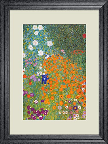 Creative 3D Visual Effect Wall Mural Bauerngarten by Guatav Klimt Peel Stick Wall Decor
