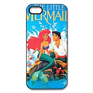 iphone 5/5s iphone 5/5s Case / iphone 5/5s iphone 5/5s Case The Little Mermaid Ariel iphone 5/5s iphone 5/5s 5 Case Hard Plastic Back Cover Case