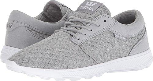 (Supra Men's Hammer Run Shoes,11,Lt Grey-White)