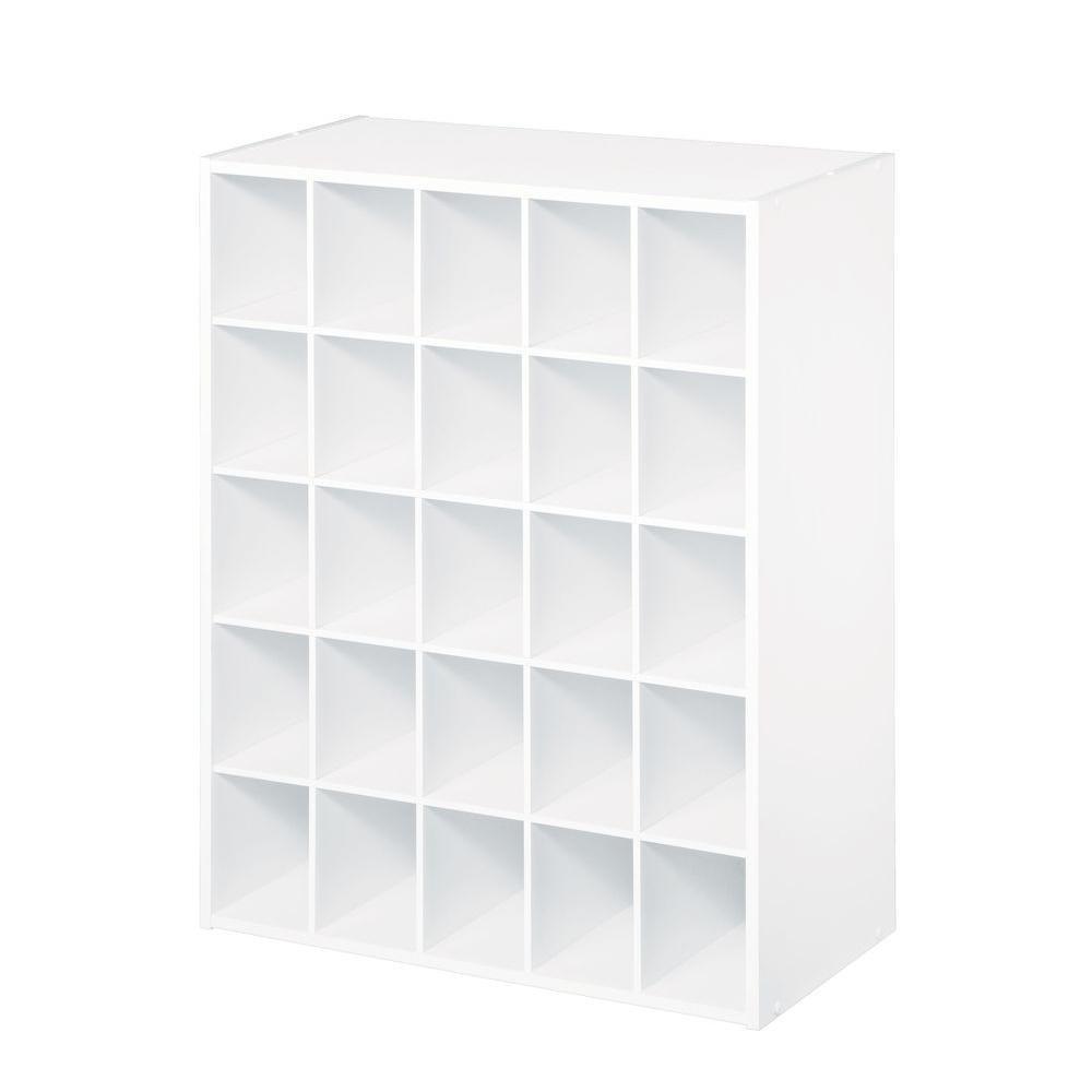 ClosetMaid 24.1-in Laminate 25 Cube Organizer