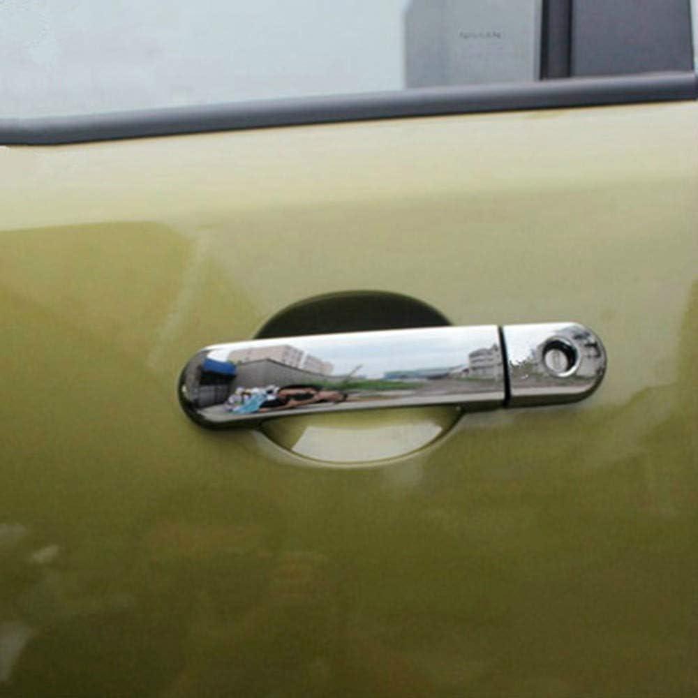 ABS fibra di carbonio maniglia della porta dellautomobile copertura della maniglia della porta di cambio decorativo ciotola paillettes adesivi per Nis-s-an Note E11 marzo Micra K12