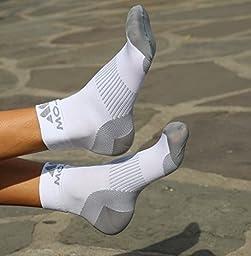 Mojo Plantar Fasciitis Compression Foot sleeves / Socks X-Firm Graduated Support