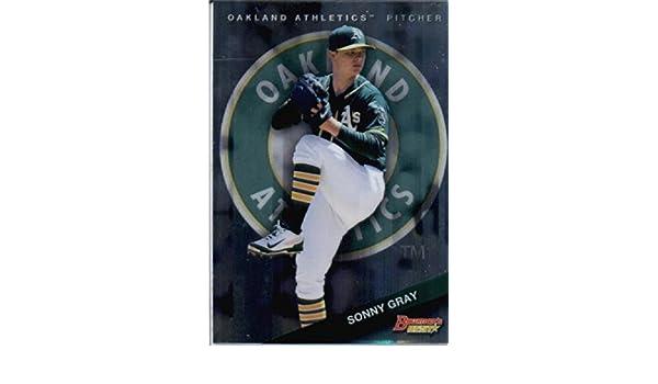 Amazon.com: 2015 Bowmans Best #52 Sonny Gray Baseball Card: Collectibles & Fine Art