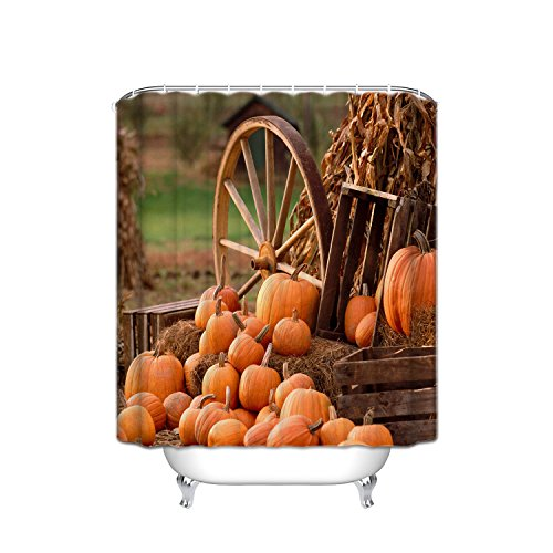 ATOLY Crystal Emotional Thanksgiving Day, Imitation Wooden Pumpkin