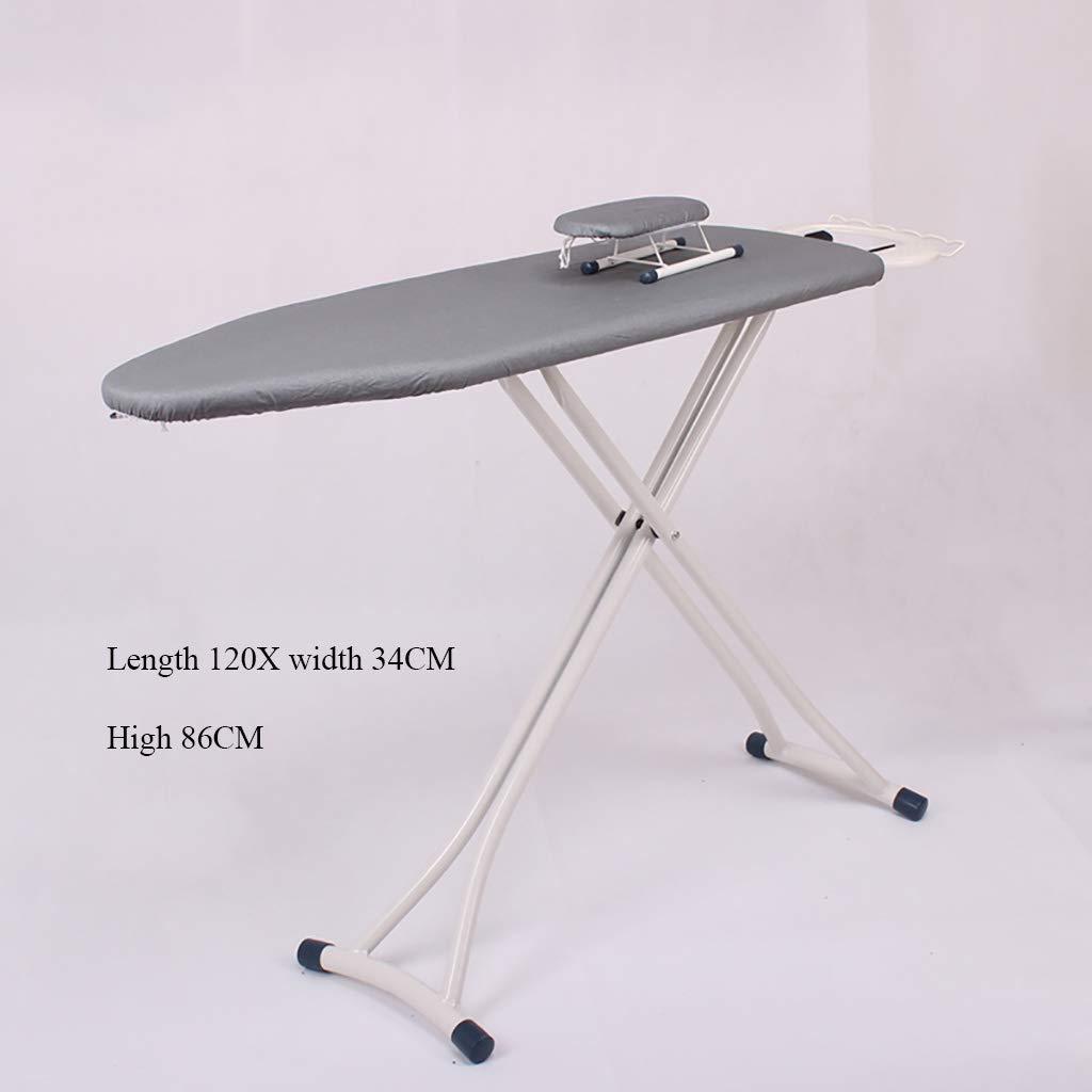 ホーム アイロン台 スタンド式, スコーチ耐性 高さ調節 単色 シリコン コーティング プロ 幅広 アイロン台-C L120xW34xH86cm(47x13x34inch) B07J4BRWM9 C L120xW34xH86cm(47x13x34inch)