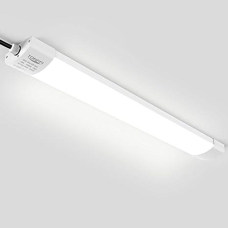 120cm LED Decken Lampe Wannen-Leuchte Feuchtraum Werkstatt Garage Keller Lager