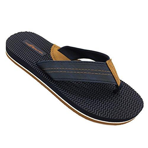 d27a8abcd FUNKYMONKEY Men s Flip-Flop Arch Support Lightweight Thongs Sandals(9 D(M)  US EU 42