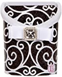 LockerLookz Locker Bin - Black and White Scroll - 1 piece