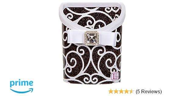 Black and White Scroll 1 Piece LockerLookz LLS1018 Bin