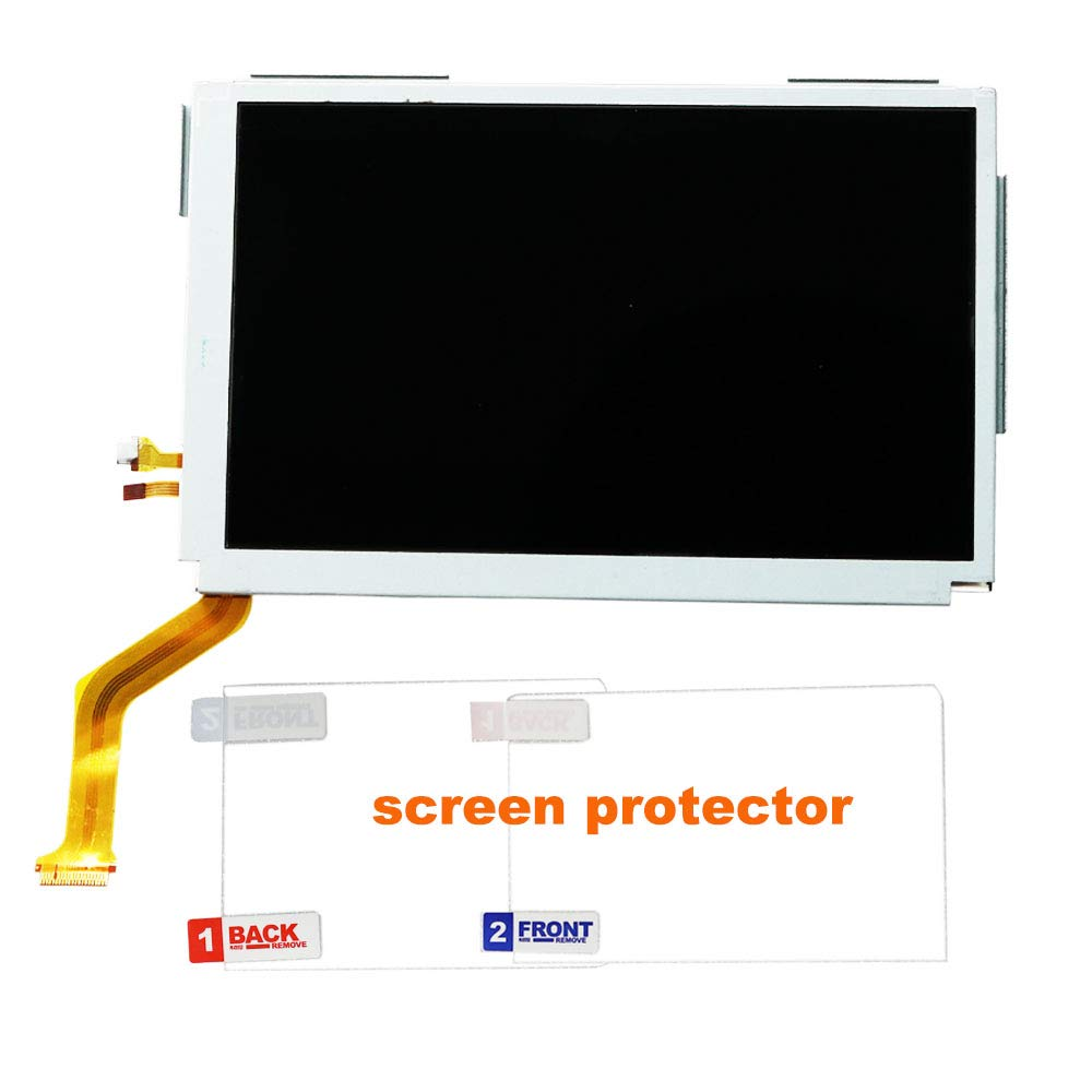 Top LCD for New 3DS XL, YTTL Replacement Parts Accessories Upper Screen Display for New Nintendo 3DS XL System Games Console