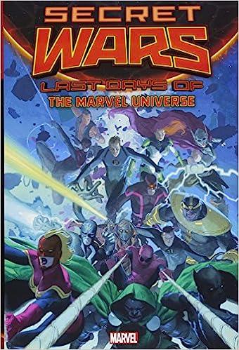 Secret Wars: Last Days Of The Marvel Universe: Amazon.es: Al ...