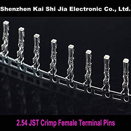 Cable Length: Other Computer Cables 200PCS 2.54mm SYP JSTJumper Wire Cable Female Pin Connector Terminal Plug