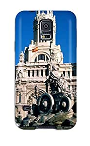 New Valerie Lyn Miller Super Strong Madrid City Tpu Case Cover For Galaxy S5