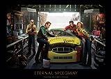james dean chris consani - Eternal Speedway Chris Consani Elvis Marilyn James Dean Print Poster 36x24