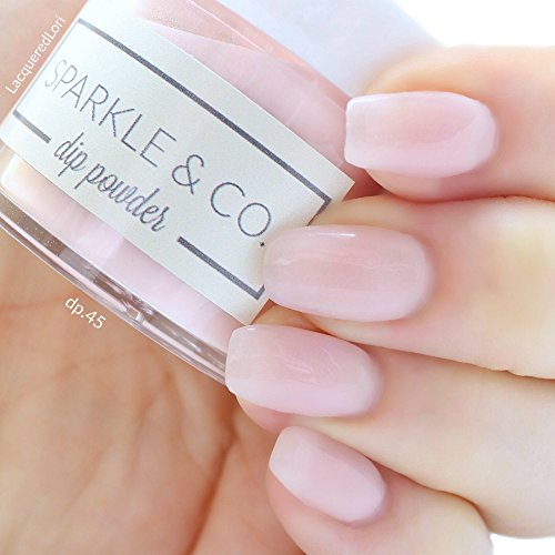 Sparkle & Co. Dip Powder dp.45 Cloudy Everyday Pink (Kit Everyday Starter)