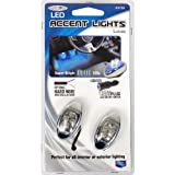 Custom Accessories 23735 Blue LED Accent Light - 2 Piece