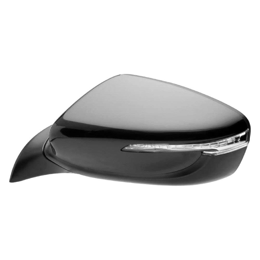 Replacement Driver Side Power View Mirror (Heated, Foldaway) Fits Kia Forte