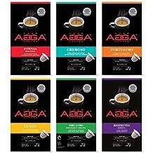 Café Agga Coffee VARIETY 60 NESPRESSO COMPATIBLE CAPSULES