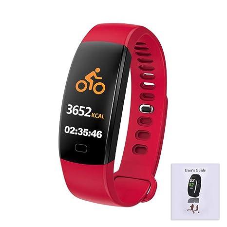 FGHKMJHB F64HR 0.96 Pulgadas Smartwatch Conteo de Pasos ...