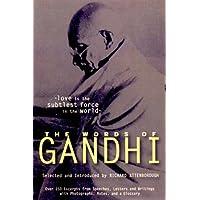 The Words of Gandhi (Words of Series)