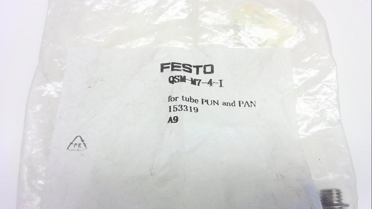 Pack Of 10 Pack Of 10 Festo Qsm-M7-4-I Straight Push-In Fitting 4Mm Qsm-M7-4-I