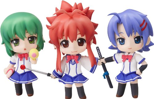 Nendoroid Petit: Ichiban Ushiro no Dai Mao (Display of 3) Figure -