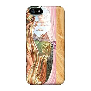 For Iphone 5/5s Premium Tpu Case Cover Campbell Rapunzel Protective Case