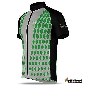 Didoo Mens Cycling Jersey Short Sleeve Bike Top pro racing team shirt Best  Cycle wear b0732c9cc