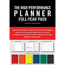 High Performance Planner Full-Year Pack: 6 Planners = 12-Month Supply