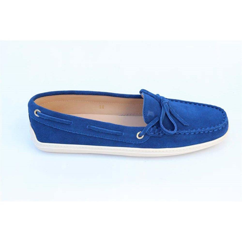 Blue 37 EUR - 6.5 US (247mm) Tods ladies loafer XXW0MA00050RE0U610
