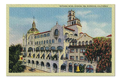 Riverside, California - Mission Inn, Rotunda Wing (20x30 Premium 1000 Piece Jigsaw Puzzle, Made in USA!) ()