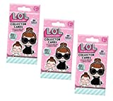 lol 99 - L.O.L. Surprise Collector Cards Blind Bags - 3 Pack