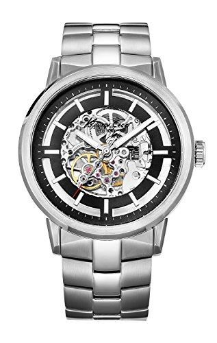 Kenneth Cole New York Men's KC3925 Stainless Steel Automatic Watch (Men Skeleton Kenneth Watch Cole)