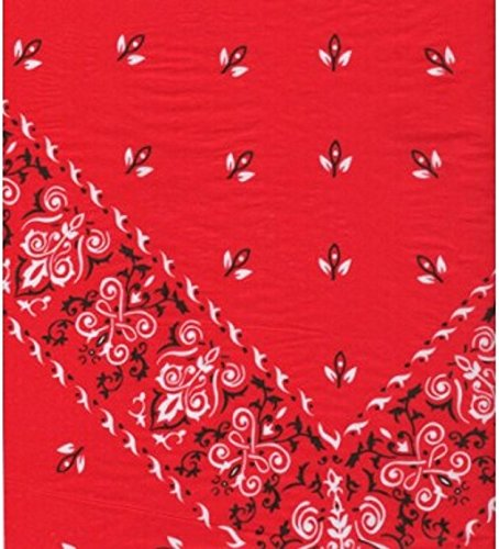 (Red Bandana Tissue Wrapping Paper-20 Sheets)