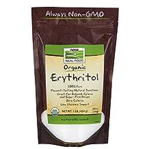 NOW Foods Organic Erythritol,1-Pound