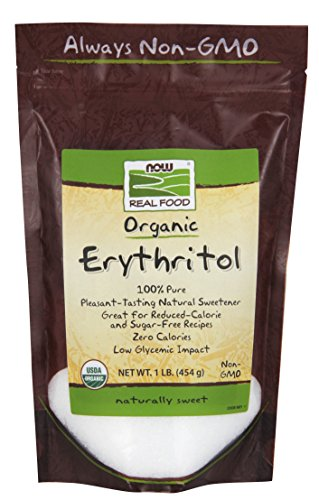 NOW Foods Organic Erythritol,1-Pound ()