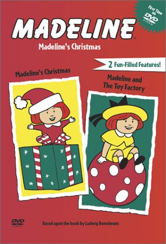 Amazon.com: Madeline's Christmas/Madeline and the Toy Factory ...