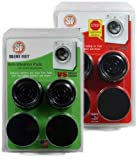 Silent Feet (Combo Pack) - Original & Anti-Walk Vibration Pads for Washing Machines and Dryers