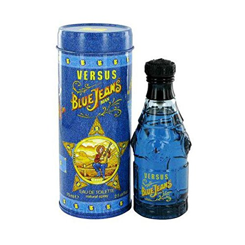 (Versace Versace Versus Blue Jeans - Edt Spray 2.5 Oz, 2.5 oz)
