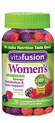 Vitafusion Women's Gummy Vitamins, 70 Count