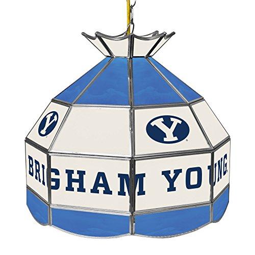 NCAA Brown University Tiffany Gameroom Lamp, 16