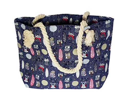 45b19141b8 Whether you need a bag or a daily tote bag we can get it. I-smalls Women s  Oversized Waterproof Beach Shoulder Bag Owlnavy