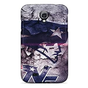 Shockproof/dirt-proof New England Patriots Covers Cases For Galaxy(s4)
