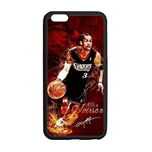 Diy Yourself Allen Iverson Playing Basketball Poster and Signature Pattern Custom cell phone case cover Laser zWONMMlFwoD Technology for iphone 5c Designed by HnW Accessories