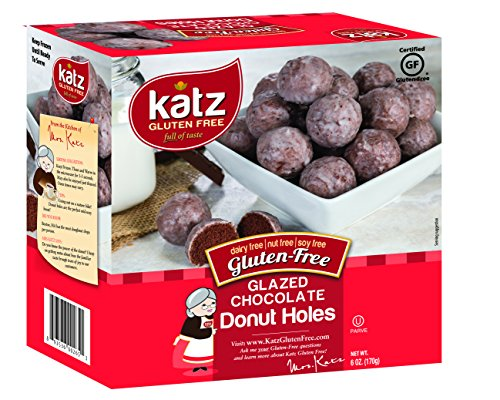 Katz Gluten Free Glazed Chocolate Donut Holes , 6 Ounce, Certified Gluten Free - Kosher - Dairy, Nut & Soy free - (Pack of - Honey Wheat Recipe Bread