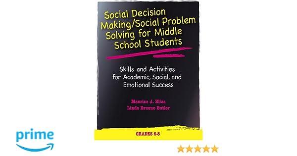 middle school problem solving activities