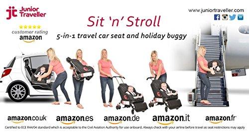 Sit 'N' Stroll 5 in 1 Baby Car Seat & Stroller by Sit N Stroll (Image #7)